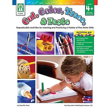Livre numérique : Key Education� -- Cut, Color, Trace, & Paste 804081-EB, prématernelle à 1re année