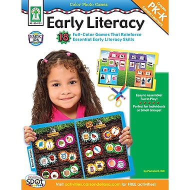eBook: Key Education 804101-EB Color Photo Games: Early Literacy, Grade PK - K