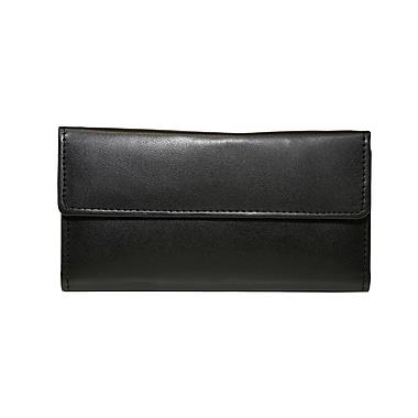 Ashlin (RFIDl5910-00-01) Redgrove RFID Blocking Ladies' Slim Clutch Wallet, Black