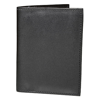 Ashlin (RFIDp221-00-01) Amsterdam RFID Blocking Passport Wallet, Black