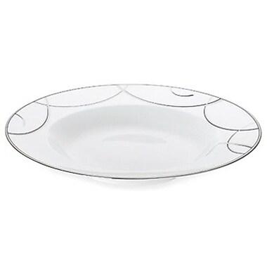 Nikko Ceramics Elegant Swirl Rim Soup / Pasta Bowl