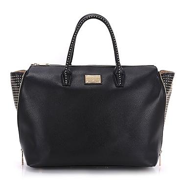 Sandy Lisa Milan Wing Tote Bag, Black, Fits up to 15.6