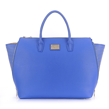 Sandy Lisa Milan Wing Tote Bag, Blue, Fits up to 15.6