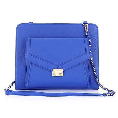 Sandy Lisa Portofino Universal Tablet Tote Bag, Blue, Fits up to 10.1