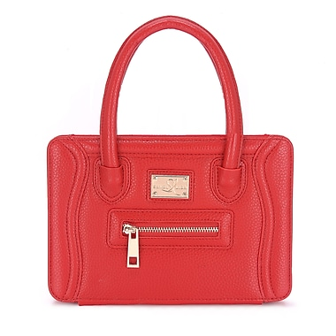 Sandy Lisa – Sac Charleston pour iPad mini, rouge (SLCTN-iPRD-MINI)