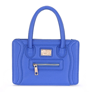 Sandy Lisa Charleston iPad MINI Bag, Blue, (SLCTN-iPBL-MINI)