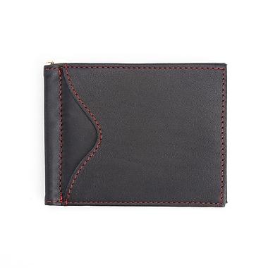 Royce – Portefeuille mince pour hommes, pour cartes de crédit avec pince à billets, fait de cuir véritable