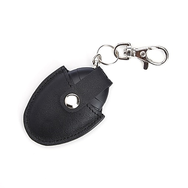 Royce Bluetooth-Based Key Finder with Last Known Map Location for Locating Keys, in Genuine Leather Case, Black