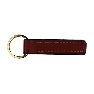 Royce American Genuine Leather Key Ring Organizer, Made in USA, Light Tan