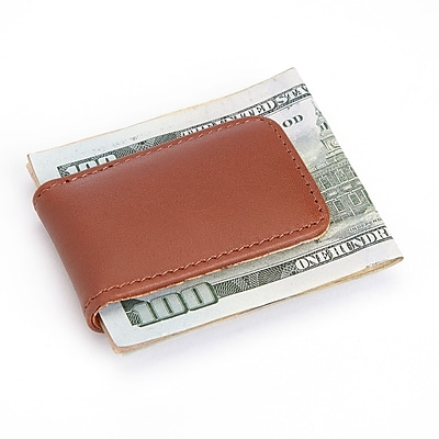 Royce Leather Magnetic Money Clip (810-TAN-5)