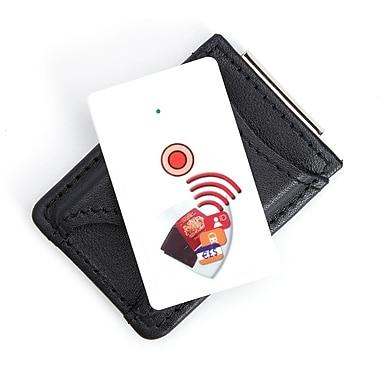Royce – Portefeuille avec pince à billets, cuir véritable, dispositif de suivi, carte de dernier déplacement, noir
