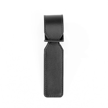 Royce Luxury Bag Handle Tag for Identifying Luggage, Black