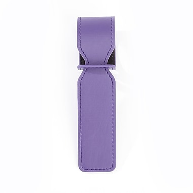 Royce Luxury Bag Handle Tag for Identifying Luggage, Purple