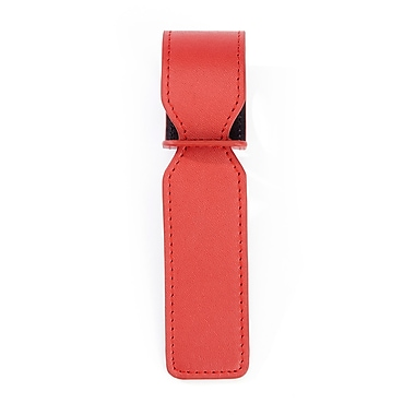 Royce Luxury Bag Handle Tag for Identifying Luggage, Red