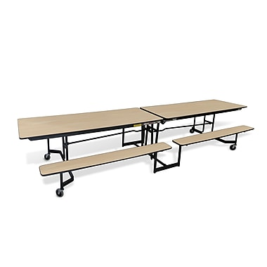 Mitchell 21'' x 121'' Rectangular Cafeteria Table