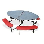 Mitchell 72'' x 48'' Circular Classroom Table