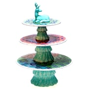 Tracy Porter Folklore Holiday 3-D 3-Tier Centerpiece Tiered Stand