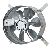 iLIVING 1220 CFM Gable Mount Attic Fan w/ Adjustable Thermostat