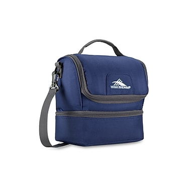 High Sierra Double Decker Lunch Kit, True Navy/Mercury (74713-4515)