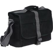 Olympus® Black/Gray Cordura Nylon Messenger Camera System Bag for OM-D/E-M5 (260124)