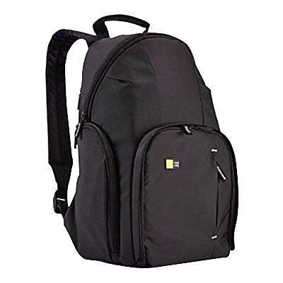 Case Logic® Black Dobby Nylon DSLR Compact Backpack (TBC-411BLACK)