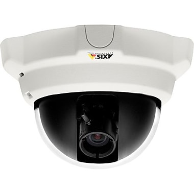 AXIS® P3304 Wired Indoor Fixed Dome Network Camera, 1280 x 800, White