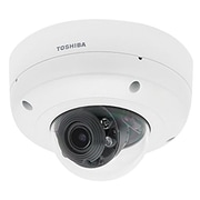 toshiba IK-WR31A Wired Indoor/Outdoor Vandal Dome Network Camera, 2048 x 1536, White