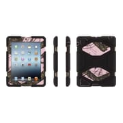 Griffin® Survivor Protective Case for Apple iPad 2, Black/Pink/Mossy Oak BreakUp (GB36900)