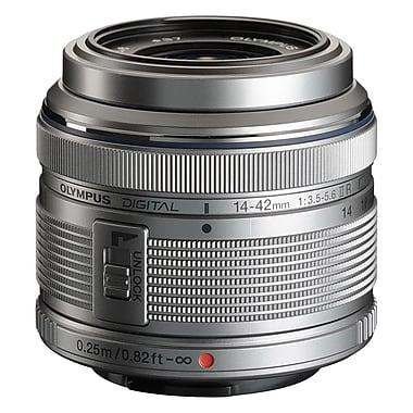 Olympus® Macro Zuiko Digital V314050SU000 f/3.5 - 5.6 Zoom Lens for E-P1 Micro 4/3 Cameras, Silver