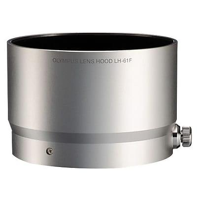 Olympus® LH-61F Round Lens Hood for Macro Zuiko Digital ED 75 mm 1:1.8 Lens, Silver