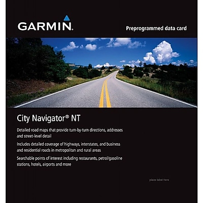 Garmin City Navigator® 010-11595-00 Land Map, Southern Africa