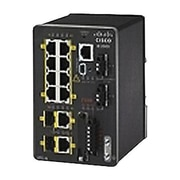 Cisco™ IE-2000-8TC-L 8 Port Fast Ethernet Rail-Mountable Managed Switch, Black