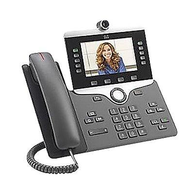 Cisco 8845 5-Line IP Video Phone, Corded,