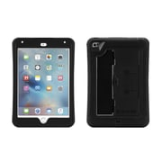 Griffin® GB41365 Survivor Slim Polycarbonate/Silicone Protective Case for Apple iPad Mini 4, Black