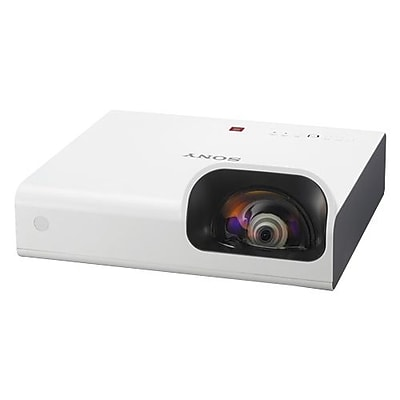 Sony VPL-SW235 WXGA Short Throw Projector, White