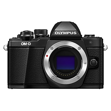 Olympus® OM-D E-M10 Mark II 16.1MP Mirrorless Camera Body, Black