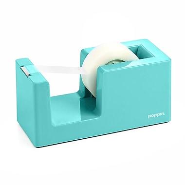 Poppin Tape Dispenser, Aqua