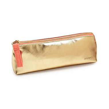 Poppin Pencil Pouch, Gold