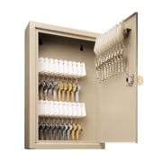 "Uni-Tag 30-Key Security Lock Cabinet, 8"" x 2-5/8"" x 12-1/8"", Sand, (201903003)"