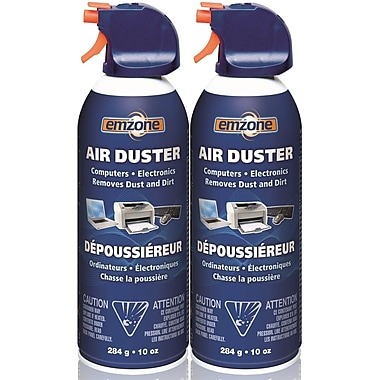 Emzone Air Duster, 10 oz, 2/Pack, (47020-02)