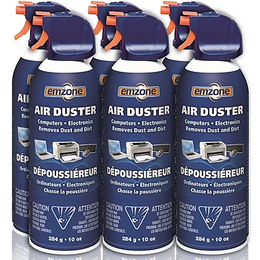 Emzone Air Duster, 10 oz, 6/Pack, (47020-06)