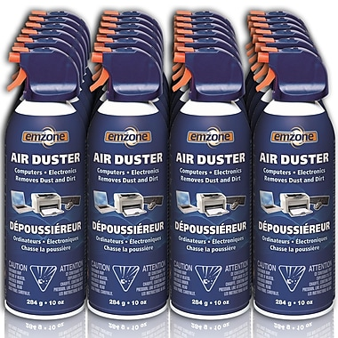 Emzone Air Duster, 10 oz, 24/Pack, (47020-24)