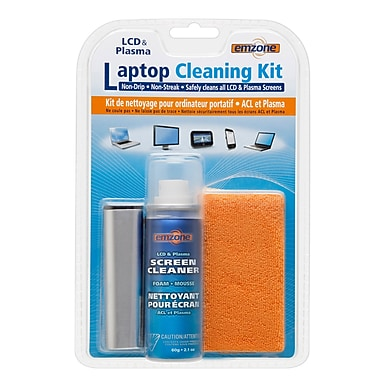 Emzone Laptop Cleaning Kit, 3/Pack, (47076-03)