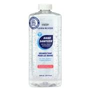 Zytec – Recharge de désinfectant pour mains chasseur de microbes en gel avec aloès, vitamine E et hydratants, 1050 ml