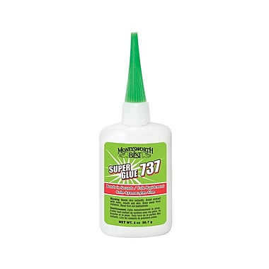 Moneysworth & Best Super Glue 737, 2oz, 12/Pack, (50812-12)