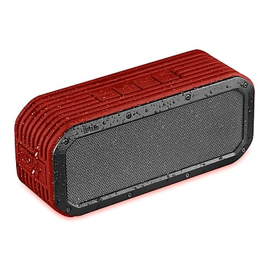 Divoom Voombox-Outdoor Bluetooth Speaker, Red , (Voombox RD)