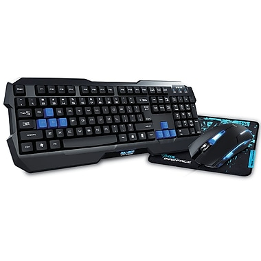 E-Blue Cobra EKM820 Gaming Combo Set, (EKM820BKUS-IU)
