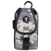 Tough Tested Universal Rugged Pouch With Belt Clip (digital Camouflage)