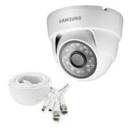 Samsung SDC-9442BC Wired Night Vision Bullet Security Camera, White