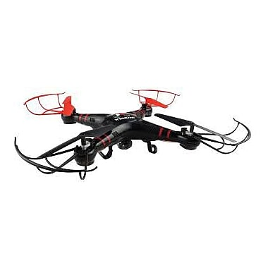 Xtreme® XFlyer Aerial 6 Axis Remote Control Quadcopter Drone with Live Stream HD Recording Camera, Black (XDG6-1004-BLK)